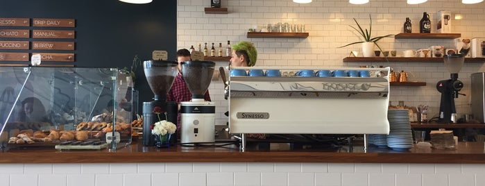 Mothership Coffee Roasters is one of LAS/LAX/SAN.