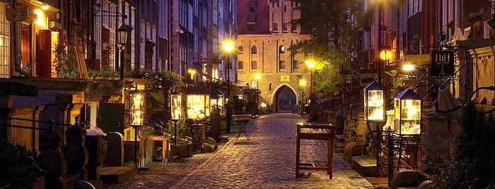 Mariacka is one of Гданьск - онлайн путеводитель.