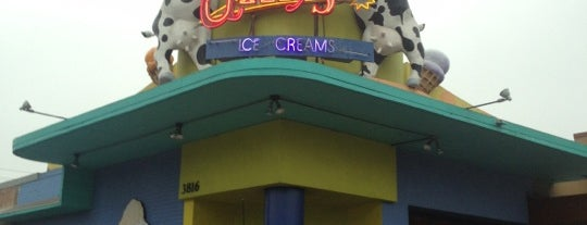 Amy's Ice Creams is one of Houston Press - 'We Love Food' - 2012.