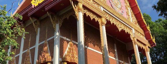วัดไม้ขาว is one of Holy Places in Thailand that I've checked in!!.