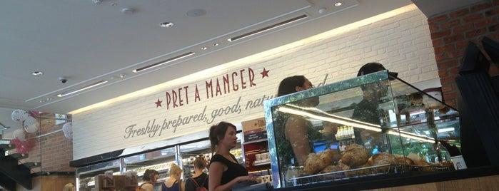 Pret A Manger is one of Eatins.