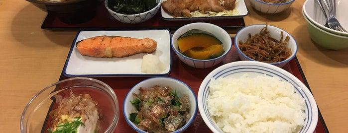 まいどおおきに 徳島二軒屋食堂 is one of 定食、食堂、海鮮、魚介.