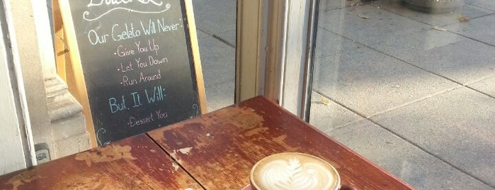 Dolcezza Artisanal Gelato is one of dc drinks + food + coffee.