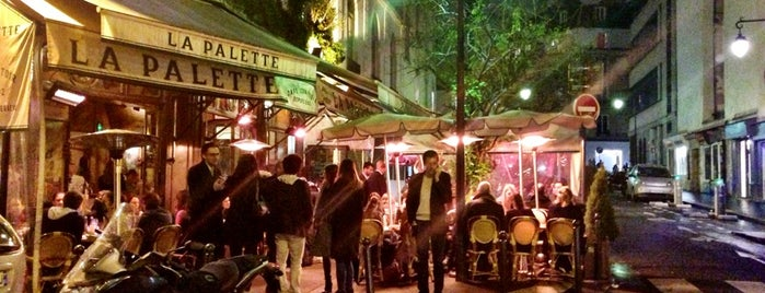 La Palette is one of Guide to Paris's best spots.