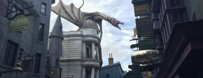 Harry Potter and the Escape from Gringotts is one of Ending Summer.