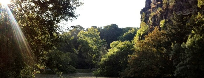 Buttes Chaumont Park is one of The 15 Best Spacious Places in Paris.