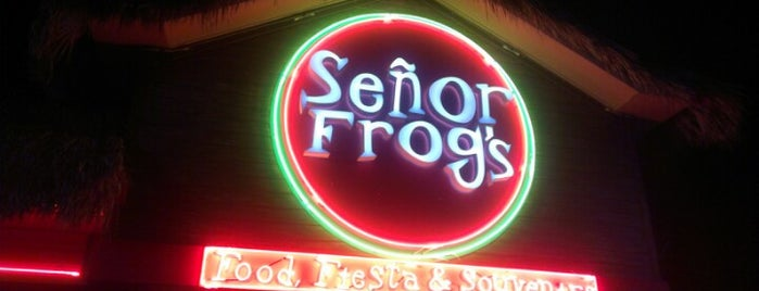 Señor Frog's is one of Dining in Orlando, Florida.
