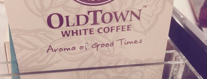 OldTown White Coffee is one of yam cha~.