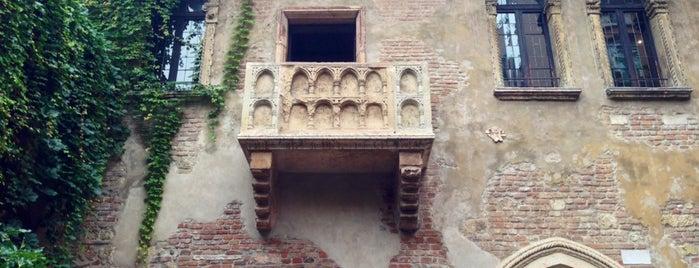 Casa di Giulietta is one of Sulle tracce di Romeo e Giulietta.
