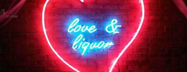 Love & Liquor is one of London bars.
