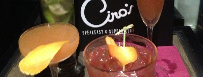 Ciro's Speakeasy and Supper Club is one of Favorite Restaurants.