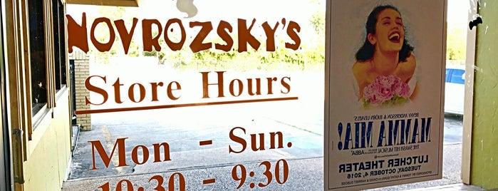 Novrozsky's Hamburgers is one of Favorite Places in Orange.