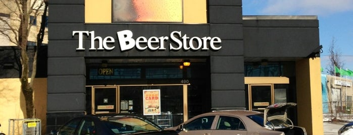 The Beer Store is one of Kitchener.
