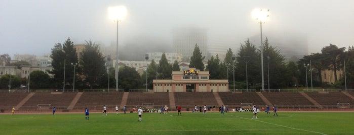 Kezar Stadium is one of San Francisco.