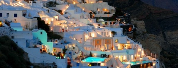 Santorini is one of Kamp.