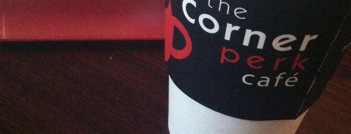 The Corner Perk Cafe, Dessert Bar, and Coffee Roasters is one of Beaufort, SC - Restaurants.