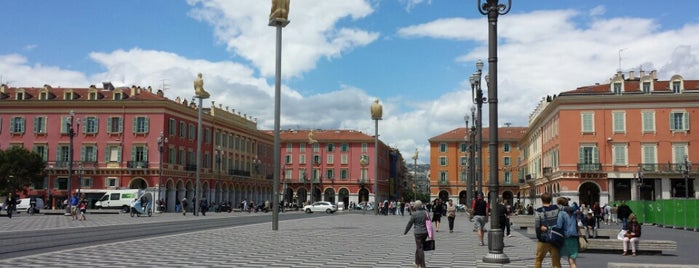 Place Masséna is one of Nizza.