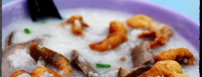 Lou Yau Kee Porridge (老友记粥) is one of KL Cheap Eats.