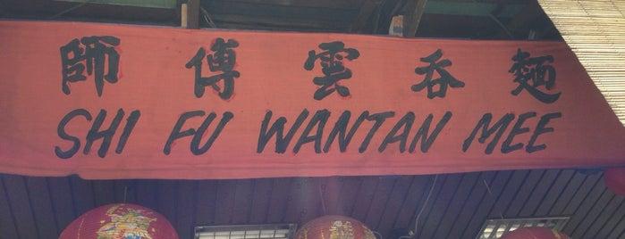 Shi Fu Wantan Mee Restaurant is one of ST list.