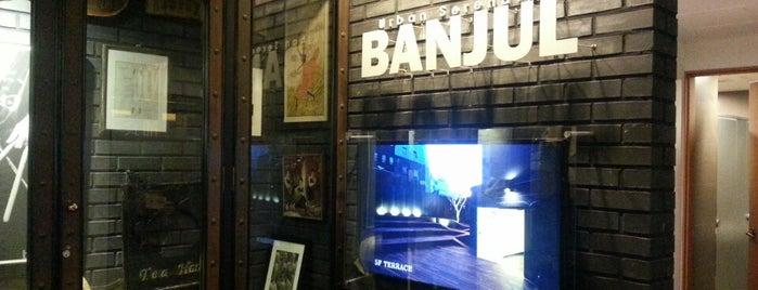 BANJUL is one of cafe.