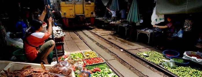 Meklong Market is one of Marketplace ¥.
