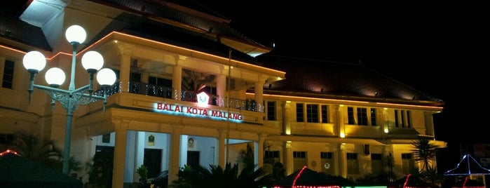Balai Kota Malang is one of must to visit in malang city.