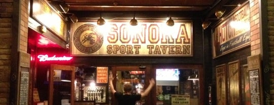 Sonora Sports Tavern is one of Cenar en bcn.