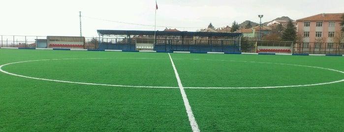 Sivrihisar İlçe Sahası is one of Eskişehir Stadyum ve Futbol Sahaları.