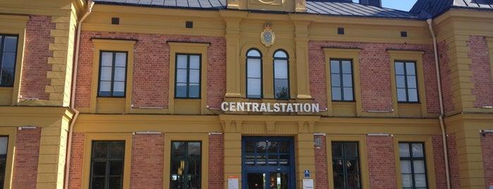 Linköping Centralstation is one of Tågstationer - Sverige.