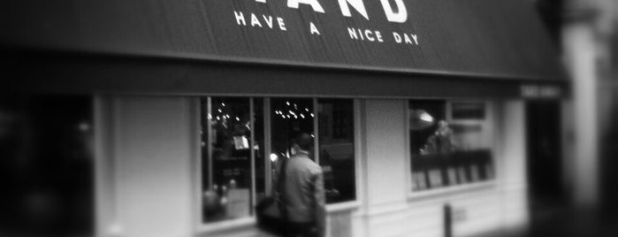 H.A.N.D (Have A Nice Day) is one of Restaurants.