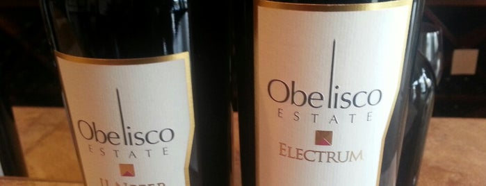 Obelisco Winery is one of Woodinville Wineries.