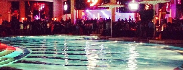 XS Nightclub is one of 50 Best Swimming Pools in the World.
