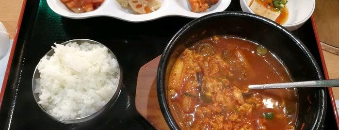 韓国家庭料理 元祖 ブデチゲ is one of お気に入り.