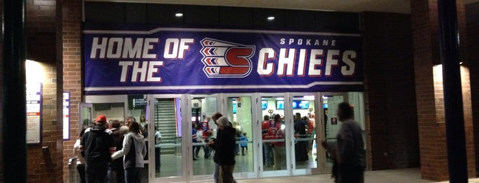 Spokane Veterans Memorial Arena is one of Summer Events To Visit....