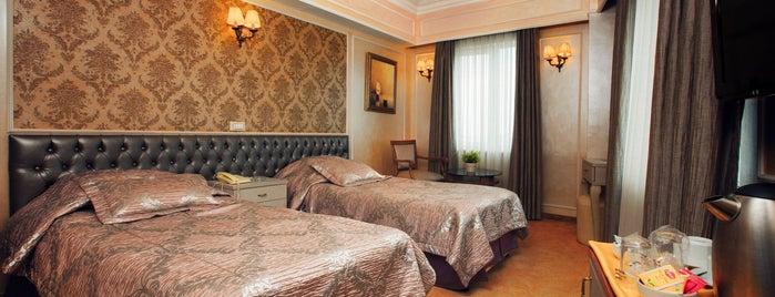 Deniz Hotel is one of İSTANBUL OTELLER 🏩.