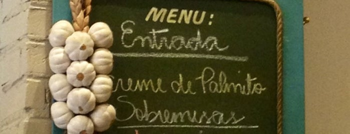 Ambrosia Restaurante is one of Restaurantes.