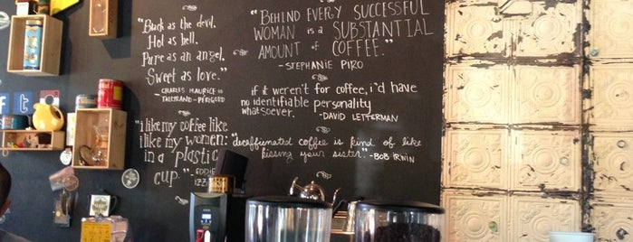 The Coffee Bar is one of 15 Top Coffee Shops in D.C..