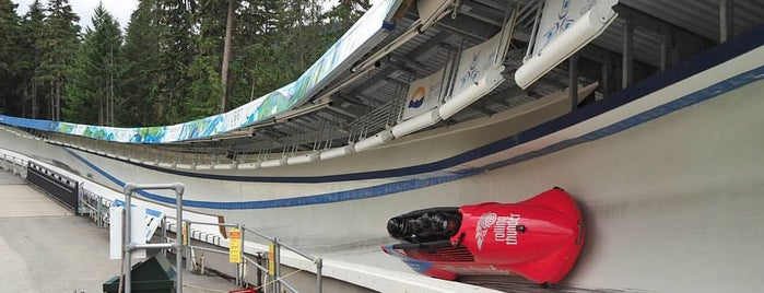 Whistler Sliding Centre is one of A Guide to Whistler, BC.