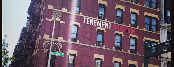 Tenement Museum is one of Bucket List Places.