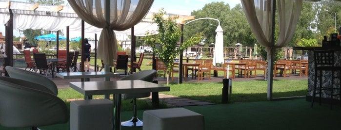 Biruza Beach Club is one of Kiev.