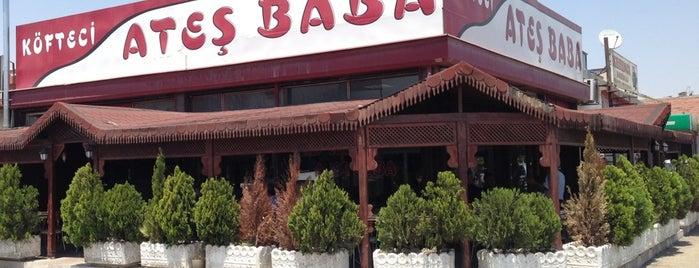 Köfteci Ateş Baba is one of Konya'da Café ve Yemek Keyfi.