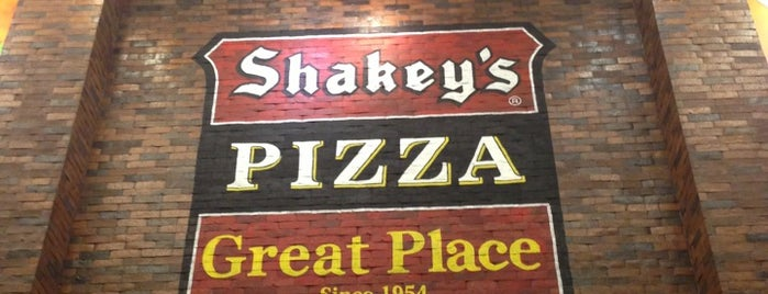 Shakey's is one of Great places for everything.