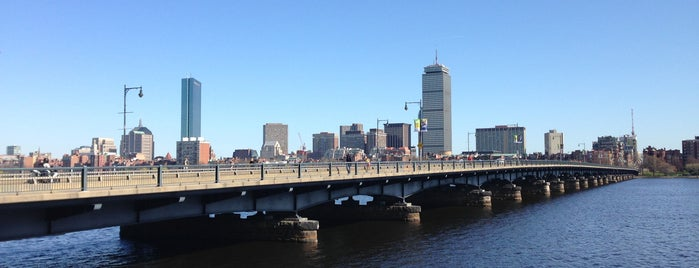 Harvard Bridge is one of Boston.