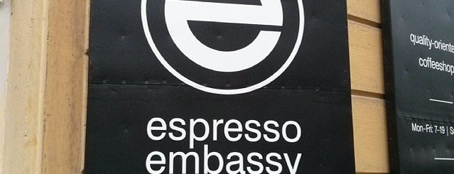 Espresso Embassy is one of Budapest Coffee Guide.