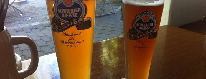 Brauerei Schneider is one of Beer / RateBeer's Top 100 Brewers [2015].