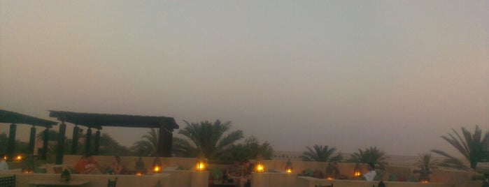 Rooftop Bar Bab Al Shams is one of Wanna try.