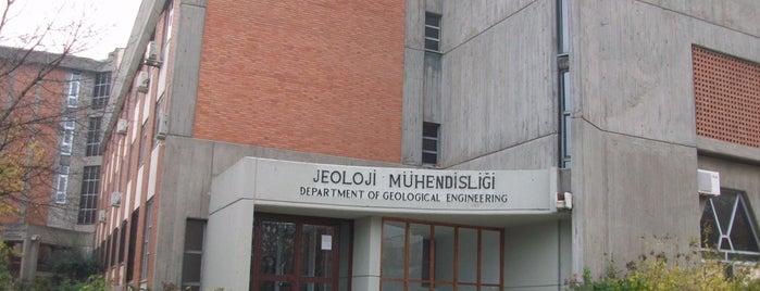 ODTÜ Jeoloji Mühendisliği is one of Best Of Middle East Technical University.
