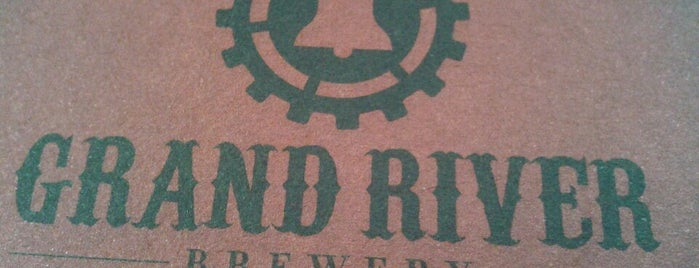 Grand River Brewery is one of Michigan Breweries.