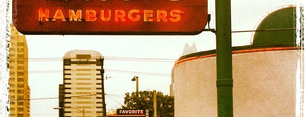Hut's Hamburgers is one of Best Burgers in Austin.