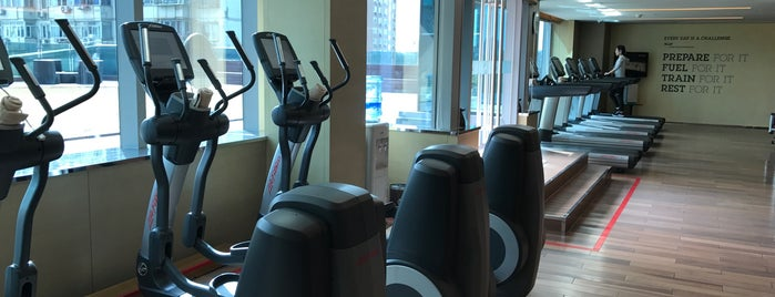 Sheraton Fitness Dongchen is one of Healthy Beijing.